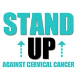 Stand Up Against Cervical Cancer T-Shirts