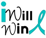 I Will Win Cervical Cancer Awareness T-Shirts & Gi