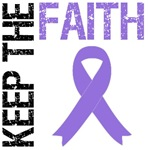 Keep The Faith Pancreatic Cancer T-Shirts & Gifts