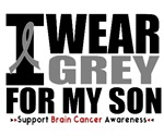I Wear Grey (Son) Brain Cancer Shirts