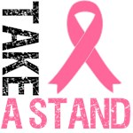 Take A Stand Breast Cancer T-Shirts & Gifts