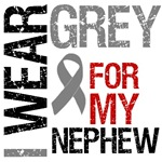 I Wear Grey (Nephew) Brain Cancer T-Shirts