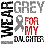  I Wear Grey (Daughter) Brain Cancer Shirts