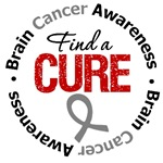 Brain Cancer Find A Cure Shirts & Gifts