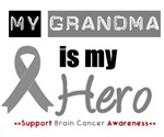 Brain Cancer Hero (Grandma) T-Shirts & Gifts