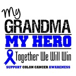 Colon Cancer Hero Grandma Shirts & Gifts
