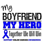 Colon Cancer Hero Boyfriend Shirts & Gifts