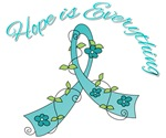 Hope is Everything Ovarian Cancer Tees & Gifts