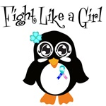 Thyroid Cancer Fight Like A Girl Tees & Gifts