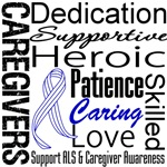 ALS Caregivers Collage