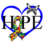 Autism Hope Heart