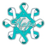 Cervical Cancer Hope Ribbons