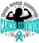Ovarian Cancer Tough Survivor Shirts