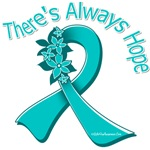 Ovarian Cancer There's Always Hope Shirts