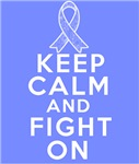 Stomach Cancer Keep Calm Fight On Shirts