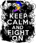  Bladder Cancer Keep Calm Fight On Shirts