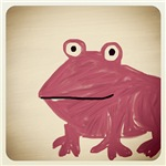 Frog Finger Drawing