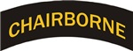 Chairborne military style tab
