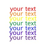 roygbiv text