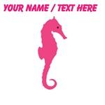 Custom Pink Seahorse