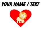 Cartoon Lion Heart
