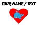 Cartoon Whale Heart