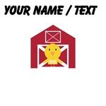 Custom Chick and Barn