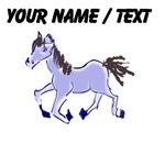 Custom Purple Pony