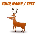 Custom Funny Deer