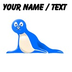 Custom Blue Sea Lion