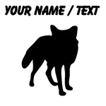 Custom Fox Silhouette