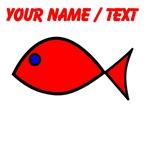 Custom Red Fish