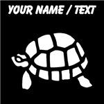 Custom Turtle Silhouette