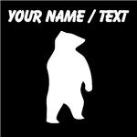 Custom Bear Silhouette
