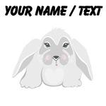 Custom Grey Bunny