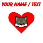 Custom Wolf Heart