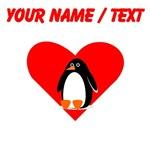 Custom Penguin Heart