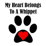 My Heart Belongs To A Whippet