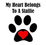 My Heart Belongs To A Staffie