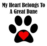 My Heart Belongs To A Great Dane