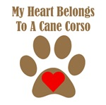 My Heart Belongs To A Cane Corso