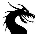 Black Scary Dragon