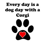 Corgi Dog Day
