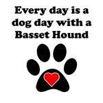Basset Hound Dog Day