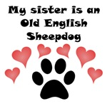 My Sister Is An Old English Sheepdog