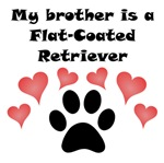 My Brother Is A Flat-Coated Retriever