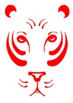 Red Tiger Face