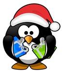 Santa Claus Penguin
