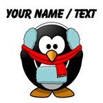 Custom Winter Penguin