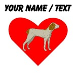 Custom Brittany Heart